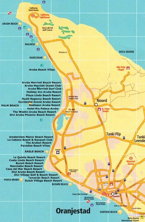Aruba Maps